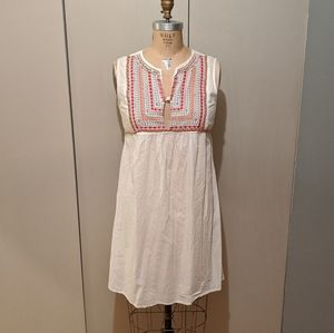 Embroidered tunic/dress